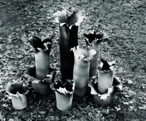 Ануфриев С.Е. Северный ветер. 1987 год. Глина, ангобы