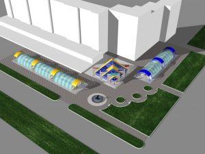 Проектное предложение застройки мкр Северный
