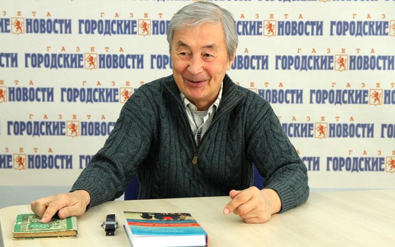 Встреча с писателем Э. Русаковым