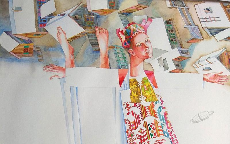 В Красноярске открывается персональная выставка Натальи Муриной
