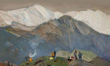 В Красноярске открылась выставка «Борис Ряузов: живопись из частных коллекций»