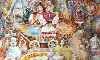 В Красноярске открылась выставка, посвященная 65-летнему юбилею Владимира Переятенец