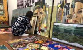 «Небо – Земля»: выставка противопоставлений в Красноярске