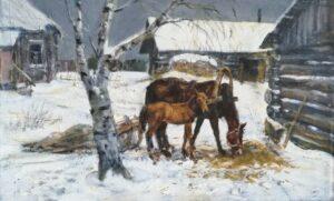 Ю. Ф. Корнилов. Зимой, 1994