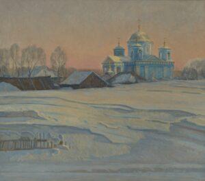 Павел Батанов Сугробы (холст, масло) 75х85 2012