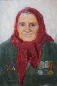 Портрет Антонины Рудневой