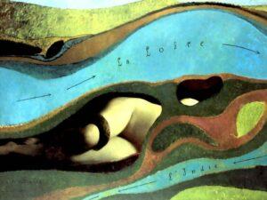 Макс Эрнст. Французский сад. 1962