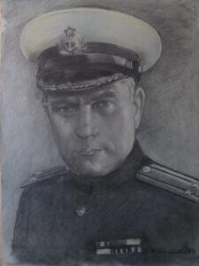 Василий Павлович Антохин. Комиссар крейсера Максим Горький