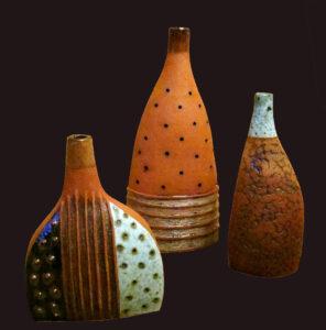 Криво Т.М. Декоративные формы. Шамот, соли, глазури, фактура.