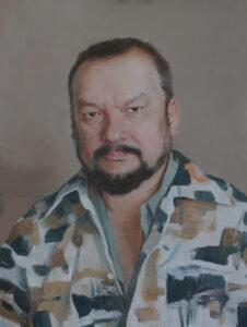 Шеломов Э.В. Саша. 2020 г. Холст, масло. 60х45 см.
