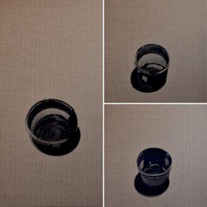 Мортаев А.В. Графическая серия Емкости. 2019 г. Гофрокартон, уголь, акрил. 100х70 см.