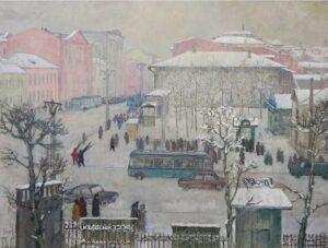 Лекаренко А.П. «Городской пейзаж».