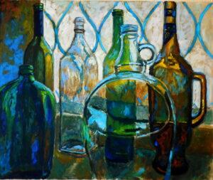 Цветовые преломления, хм, 50х60, 2014
