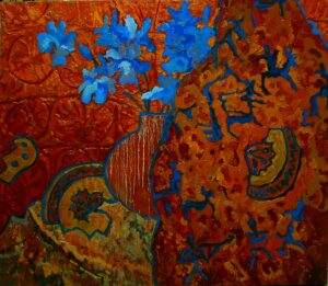 Воспоминания о Хакасии, хм, 70х80, 2011