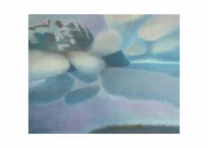 Афонов Ю.Н. Облака из серии Пляжи озера Ламы. 2007 г. Бумага, пастель. 50х70 см.