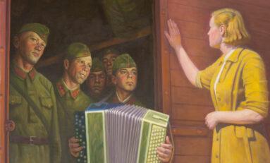 """Клюев А.А. """"1941 год. Проводы"""""""