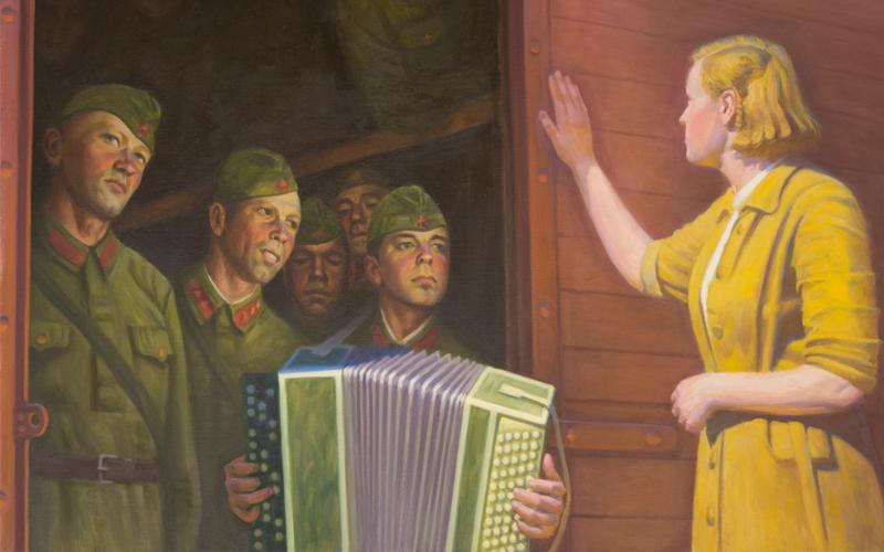 Клюев А.А. «1941 год. Проводы»