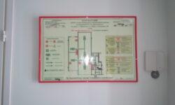 План эвакуации Дом искусств выстовочный зал