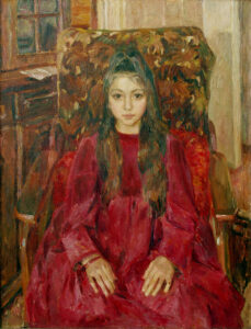 Пономарева М.Л. Жизнь. 2009 г. Холст, масло. 120х140 см.