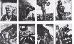 Книга памяти Виктора Астафьева проиллюстрирована гравюрами молодых художников Сибирской школы ксилографии Германа Паштова